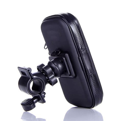 phone holder for bike bicycle phone holder bike handlebar mount holder waterproof bag for htc one m7 m8 black
