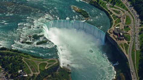 niagara falls river water turned black sludgey
