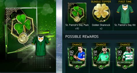 fifa mobile st patricks day event explained fp