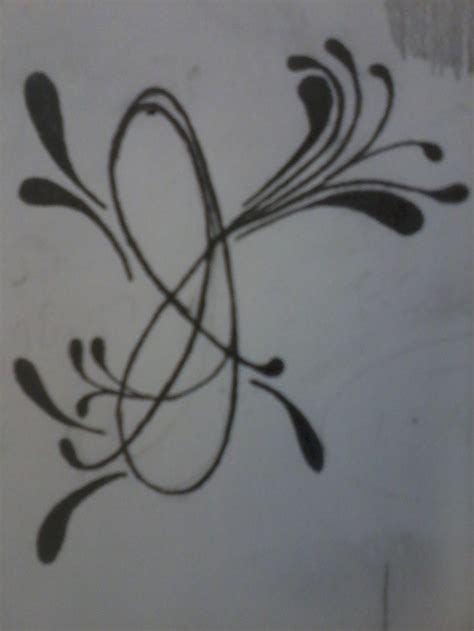 letter j tattoo designs letter j by someone to on deviantart