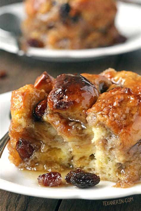 whole grain pudding bread pudding for two with bourbon sauce gluten free