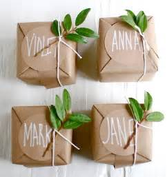 Kraft paper as wrapping paper