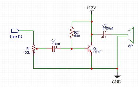 bas  amp  car stereo capacitor wiring diagram
