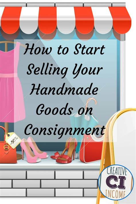 How To Sell Handmade Products - selling handmade crafts on consignment