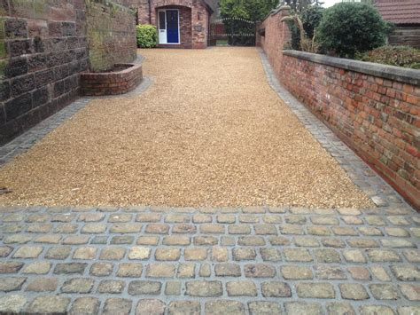 gravel driveway with gravel stabilizers to keep gravel in place walkways pinterest gravel
