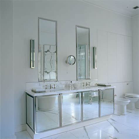 inset bathroom mirror inset vanity mirror design ideas