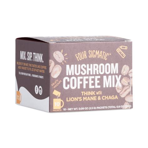 Coffee Mix four sigmatic coffee mix with s mane chaga
