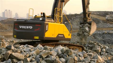 volvo ece ece crawler excavators promotional video youtube