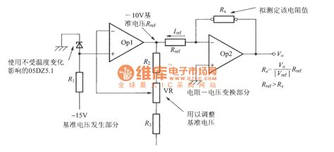 resistors resist voltage or current resistance voltage conversion circuit basic circuit circuit diagram seekic