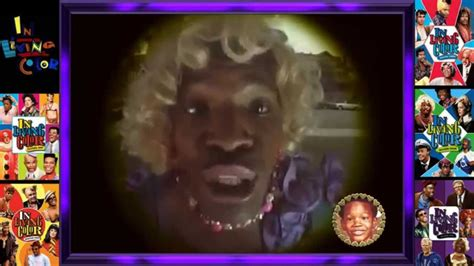 foxx living color wanda s pregnancy finding baby s in living color