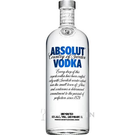 vodka png absolut vodka 1 0 l kaufen bei tgh24