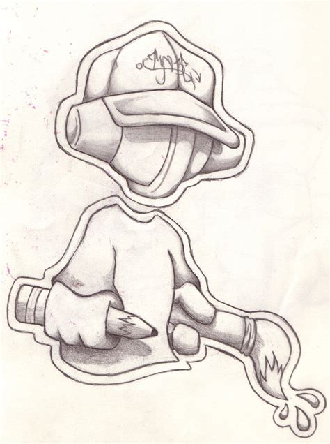 Sketches Cool by Cool Easy Graffiti Character Drawings Graffiti