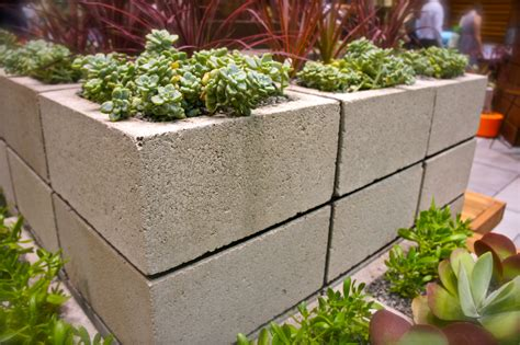 cinder block planter ideas and inspiration for a modern vegetable garden sow swell