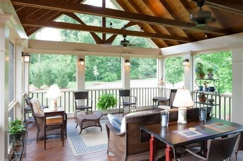 vaulted porch ceilings beams  vaulted ceiling