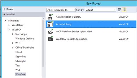 microsoft workflow manager building microsoft workflow manager activities technet