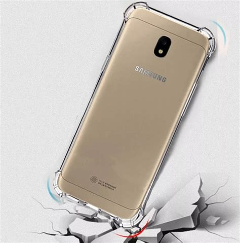 Anti Samsung J7 Pro capinhas galaxy j7 pro samsung bordas translucida tpu silicone gel anti impacto eagletechz