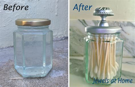 Bathroom Apothecary Jar Ideas by Silver Spray Paints Diy Apothecary Jar And Painted