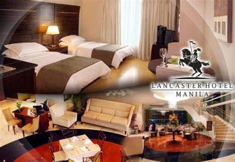 41 lancaster hotel manila s accommodation promo
