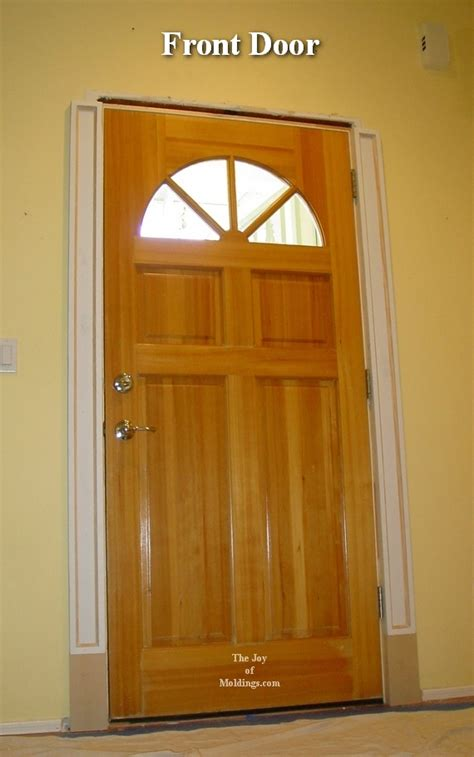 Make A Front Door How To Build A Front Door Build Front Door Woodarchivist Build Door Click Image For Larger