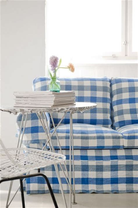 blue buffalo check sofa new gorgeous designers guild slipcovers for ikea furniture