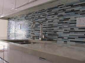 Glass Tile Kitchen Backsplash by Kitchen Brilliant Modern Tile Backsplash Ideas For