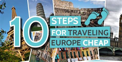 10 steps for traveling europe cheap find hotel