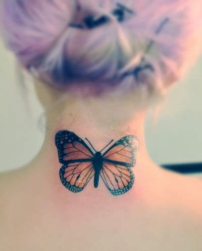 butterfly tattoo on the neck back neck simple butterfly tattoo design tattoos