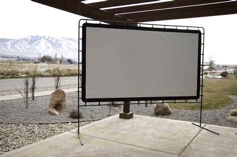 backyard big screen outdoor big screen 144