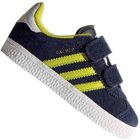 Adidas Gazele Navy Yellow adidas gazelle cf 2 i kleinkind sneaker b24997 navy yellow
