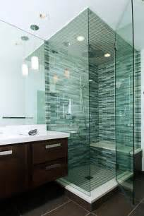 Bathroom Glass Tile Ideas Shower Tile Ideas For A Lovely Bathroom Decozilla