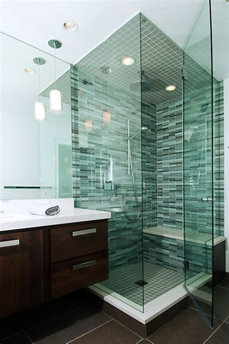 glass tile bathroom ideas shower tile ideas for a lovely bathroom decozilla