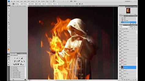tutorial photoshop cs5 efeitos segredo para manipular imagens com efeitos de fogo