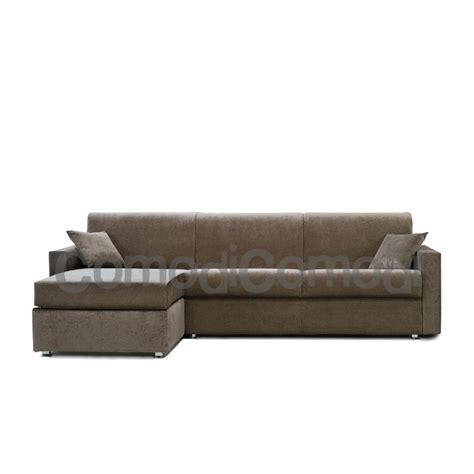 idea divani idea divano letto 3p max chaise longue box mat 160cm