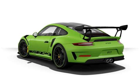 Porsche 911 Gt3 Rs Price by The Most Expensive Porsche 911 Gt3 Rs Costs 253 240