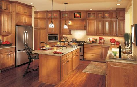 cherry oak cabinets kitchen should kitchen cabinets match the hardwood floors oak