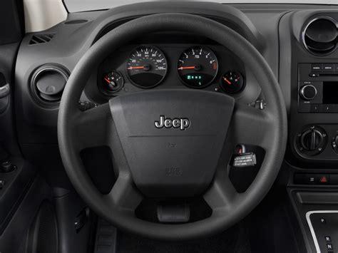 Jeep Steering Wheel Size Image 2009 Jeep Compass Fwd 4 Door Sport Steering Wheel