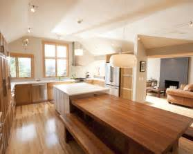 Dining Table To Kitchen Island Kitchen Island Dining Table Houzz