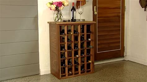 how to build a wine cabinet how to build a wine rack