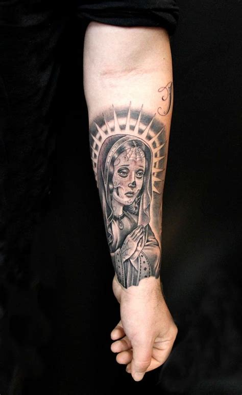 virgin mary tattoo pinterest