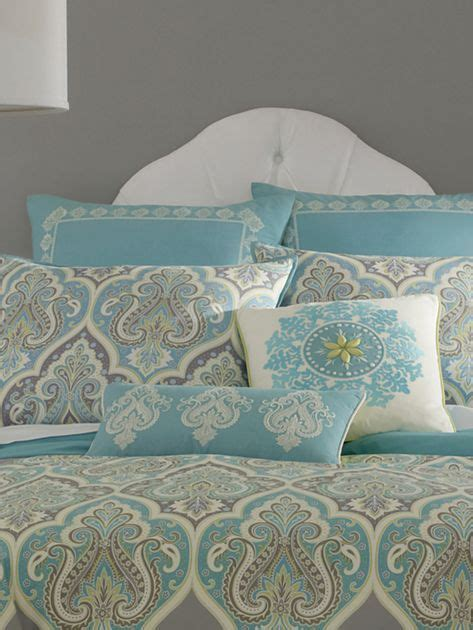 Aqua Bedroom Ls by Kashmir Comforter Set Accessories Jcpenney Pinpoint