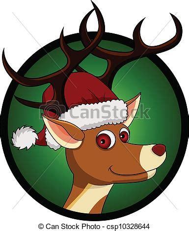 imagenes de navidad venados eps vector de navidad venado cabeza caricatura vector