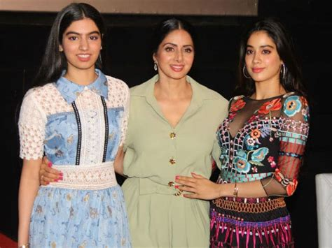 sridevi daughter photos jhanvi once wrote an open letter for her mom and it