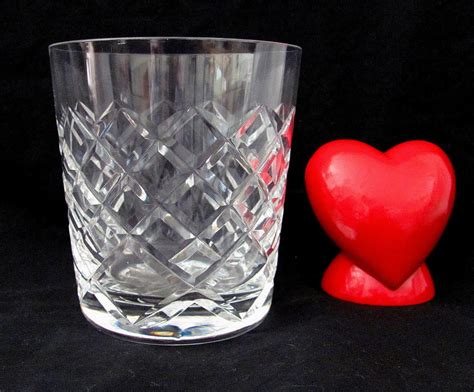 Waterford Vases Discontinued Waterford Crystal Tyrone Pattern Old Fashioned By Yourheart