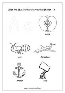 color beginning with a free worksheets alphabet picture coloring