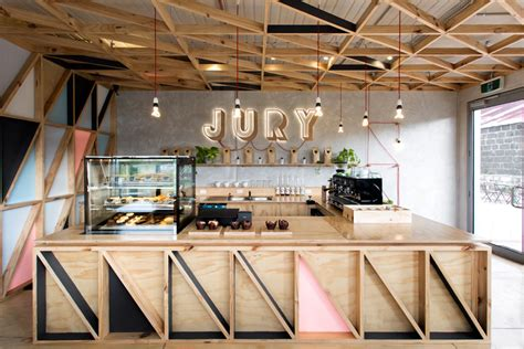 jury cafe by biasol design studio constructed from a mix