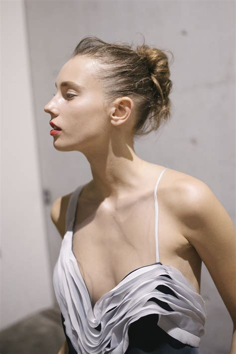 bianca spender hairstyle mbfwa o m for bianca spender styleicons