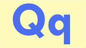 letter q learn the letters of the alphabet youtube