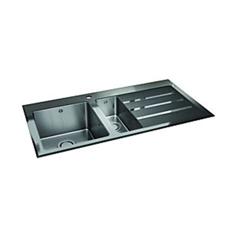 wickes kitchen sinks sale wickes rae 1 5 rhd bowl kitchen stainless steel sink