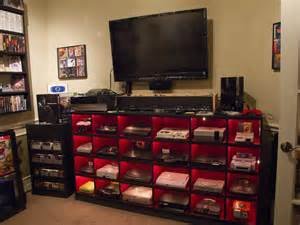 Ultimate Gamer Setup by Ultimate Video Game Room Setup He Also Has A Game Room
