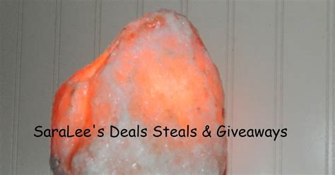 Dedicated Email Great Spa Steals And Deals by Saralee S Deals Steals Giveaways Mini Himalayan Salt